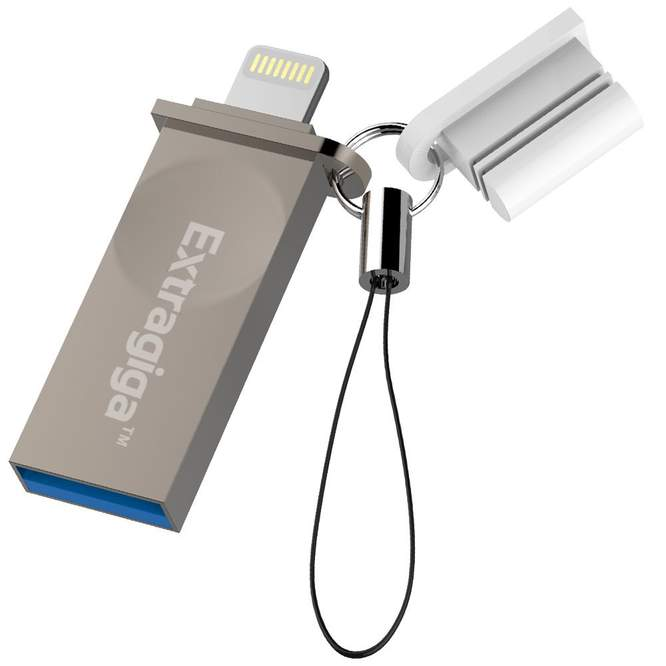 32GB iPhone Flash Drive Adapter