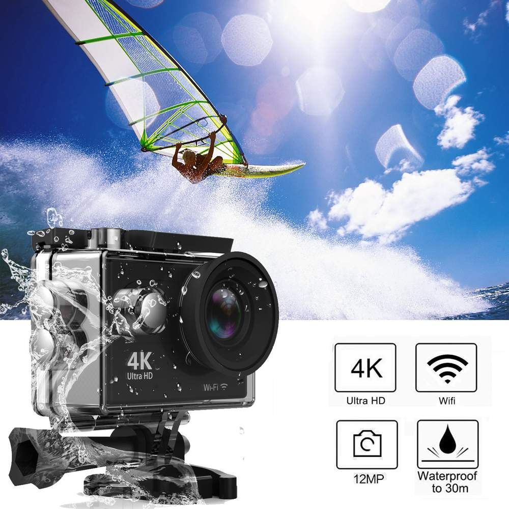 WiFi UHD 4K Waterproof Action Camera